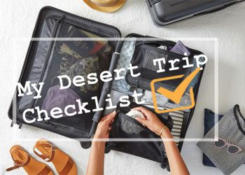 What to Carry for a Desert Trip?